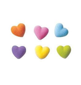 Rainbow Hearts Sugar Dec On