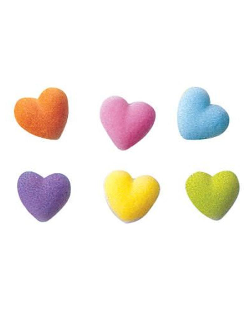 Rainbow Hearts Sugar Dec On