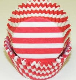 Viking Red Wide Stripe Baking Cup