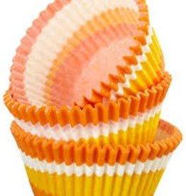 Viking Orange Swirl Baking Cup