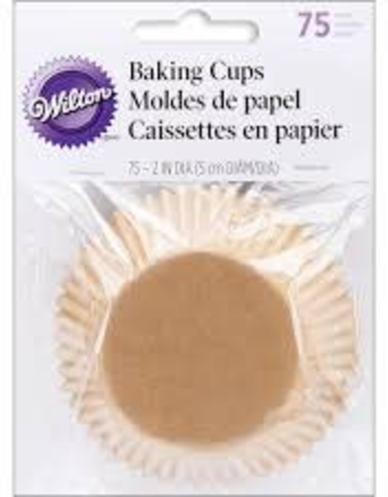 Wilton Baking Cups (Unbleached)