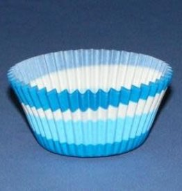 Viking Blue Swirl Baking Cups