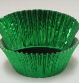 CK Green Foil Baking Cups