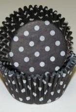 CK Black Polka Dot Baking Cups (30-40ct)