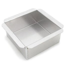 "Parrish / Magic Line 8"" X 8"" X 3"" Square Baking Pan"