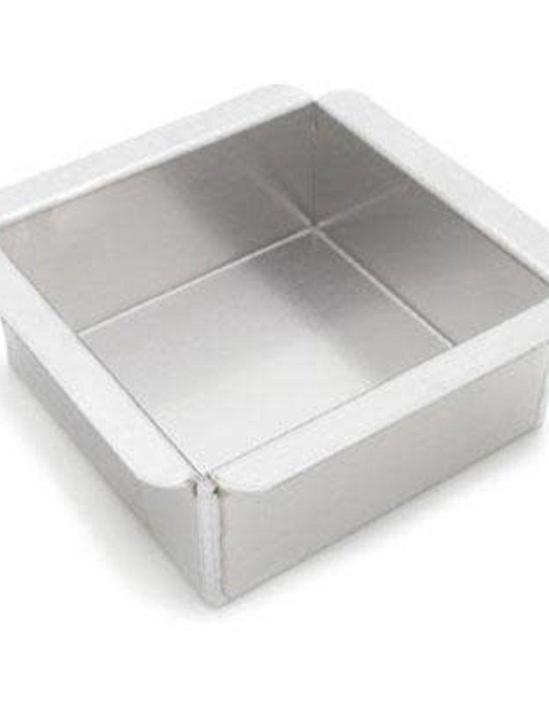 "Parrish / Magic Line 8"" X 8"" X 3"" Square Baking Pan"