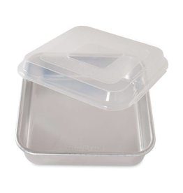 Nordic Ware Square Cake Pan with Lid (9 x 9 x 2.5)