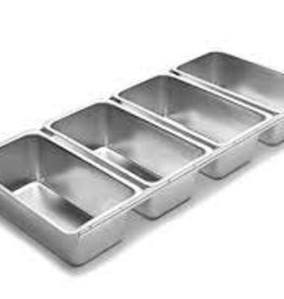 Fox Run Bread Pans (linked set of 4)