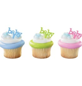 Decopac Baby Cupcake Picks