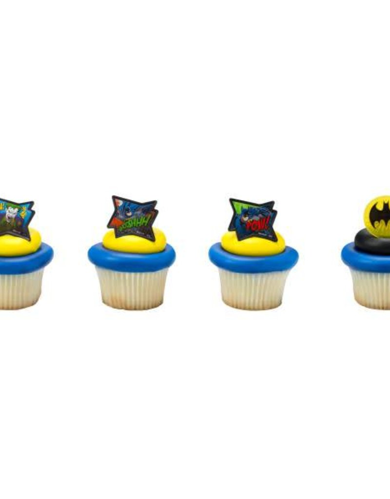 Decopac Batman Pow! Rings (12 per pkg)