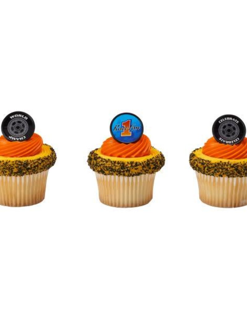 Decopac Speedway Cupcake Rings (12 per pkg)
