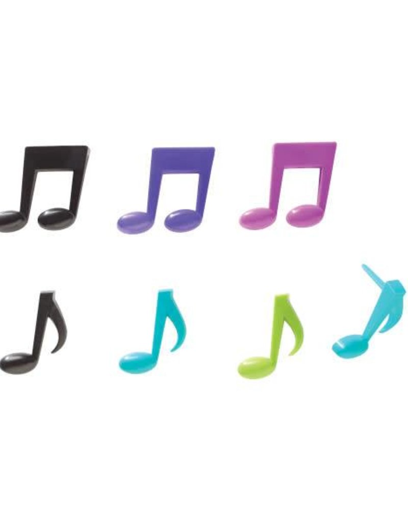 Decopac Music Notes Cupcake Picks (12 per pkg)