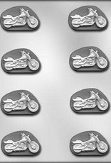 "CK Products Motorcyle Mint Chocolate Mold (2"")"