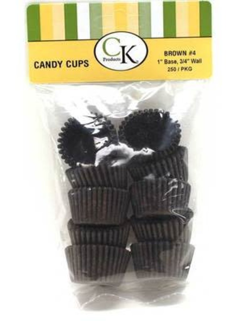 CK Brown Candy Cup #4 Small Package