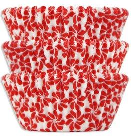 Viking Red Pinwheel Baking Cups