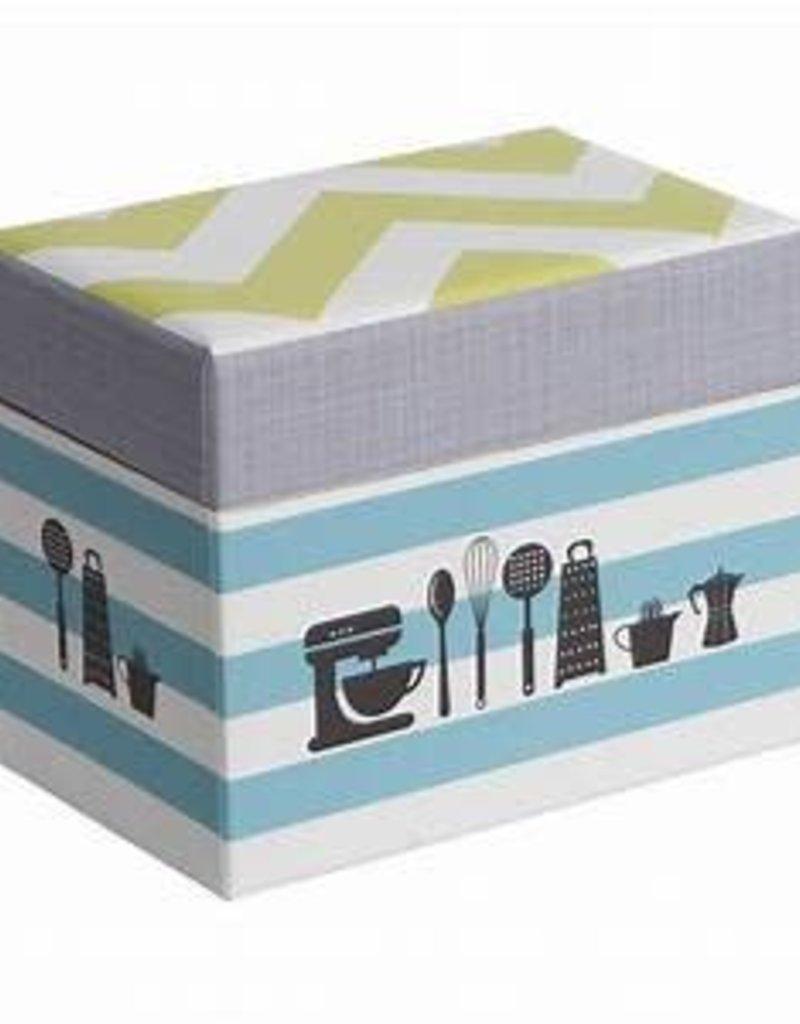 CR Gibson Recipe File Box (Kitchen Gear) - Sweet Baking Supply