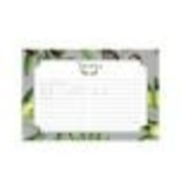 CR Gibson 4x6 Recipe Cards (Olive)