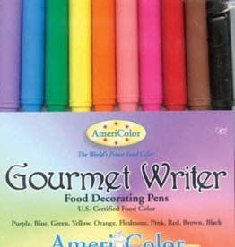 Americolor Corporation Americolor Gourmet Writers Food Decorating Pens 10 ct