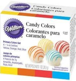 Wilton Candy Colors 4 Color Set