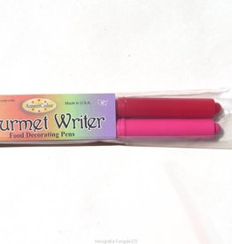 Americolor Corporation Americolor Gourmet Writers Food Decorating Pens Red and Pink