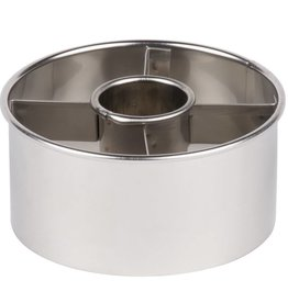"""Ateco Donut Cutter Stainless Steel (3.5"""")"""