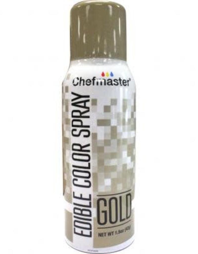 Chefmaster Chefmaster Edible Spray (Gold)