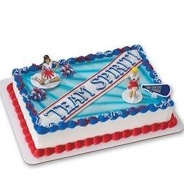 Deco Pack Cheerleading Cake Topper Set