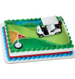Deco Pack Golf Cake Topper