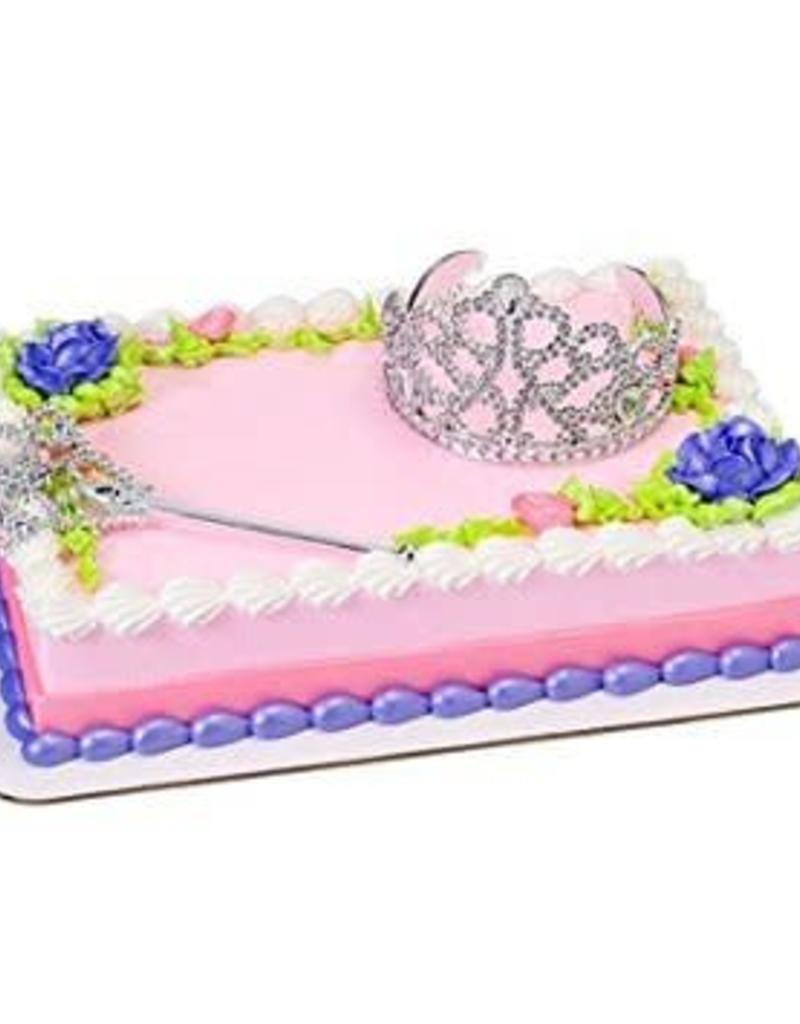 Deco Pack Queen Crown & Scepter Cake Topper