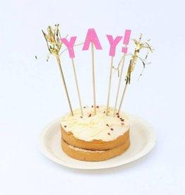 Meri Meri YAY! Cake Topper by Meri Meri
