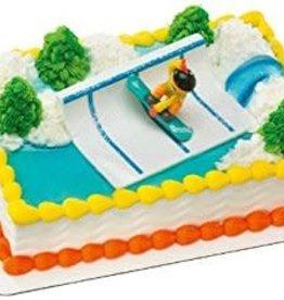 Snowboarder Cake Topper