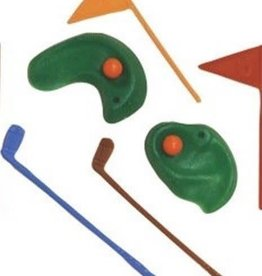 Parrish / Magic Line Golf Club and Hole Cake Topper