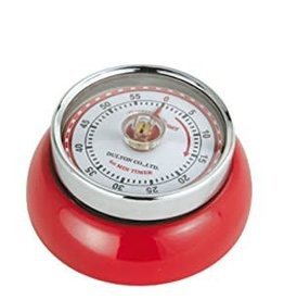 Fox Run Kitchen Timer (Magnetic Red)