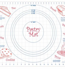 Harold Import Company Inc. Pastry Mat (Kitchen Helper)