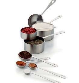 Lifetime Brands (Chicago Metalic) Measuring Cup-Spoon Set