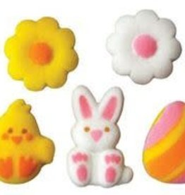 Easter Assortment Sugar Dec Ons
