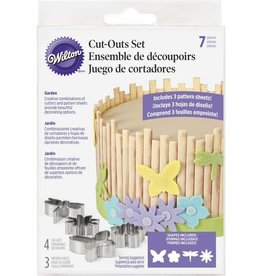 Wilton Cut-Outs Set (Garden)