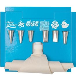 Ateco Cake Decorating Kit (8 piece)