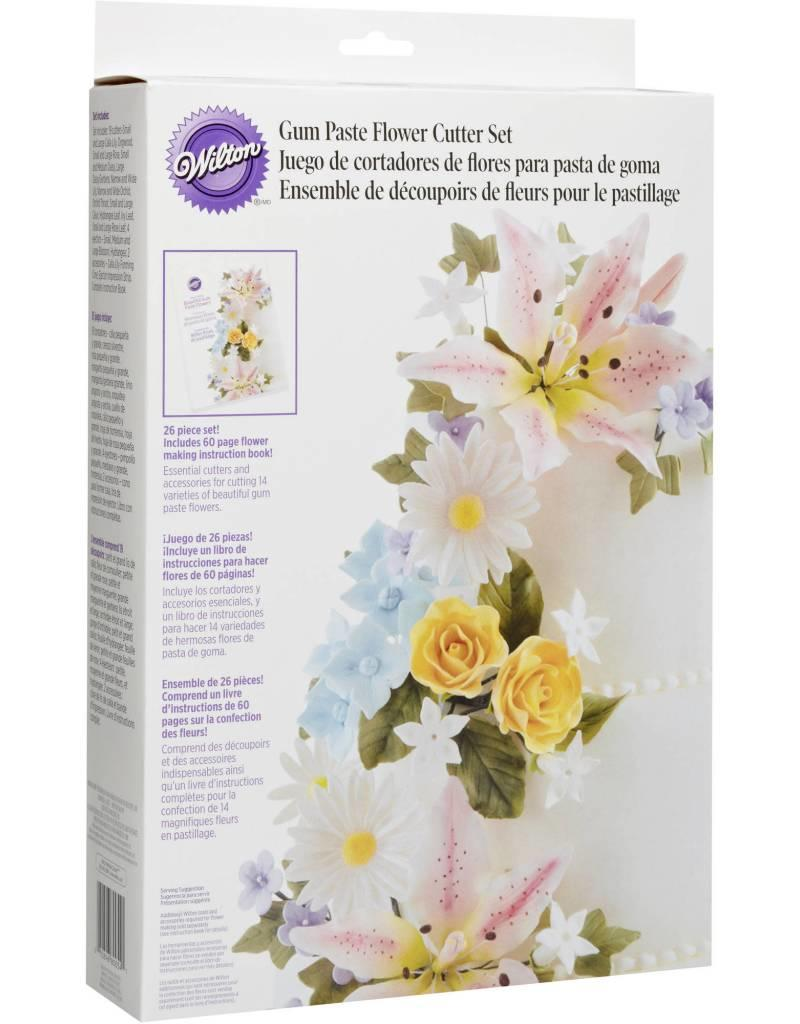 Wilton Gum Paste Flower Cutter Set (26 piece)