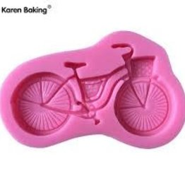 Silicone Fondant Mold (Bicycle)