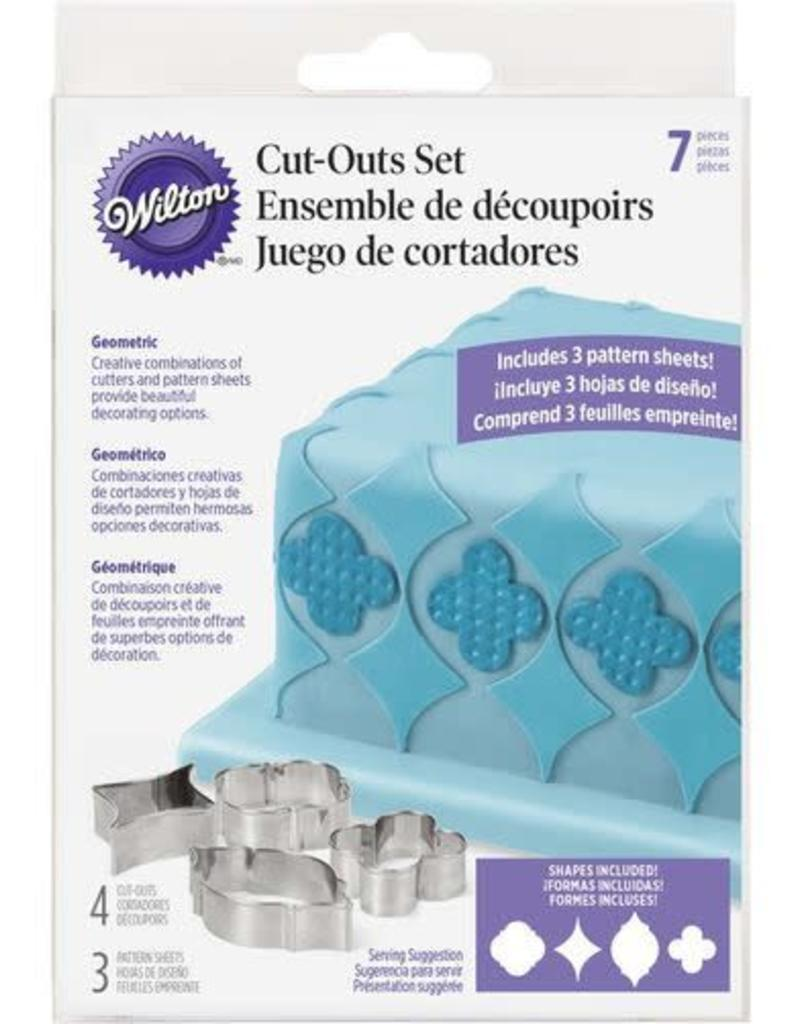 Wilton Cut-Outs Set (Geometric)