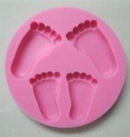 Silicone Fondant Mold (Feet)