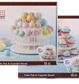 Bradshaw International Cupcake Cakepop 3 Layer Stand