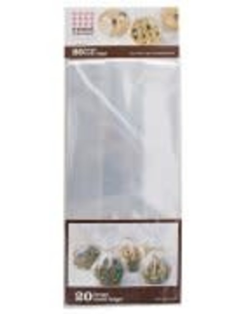 Sweet Creations Clear Treat Bags, 20pk