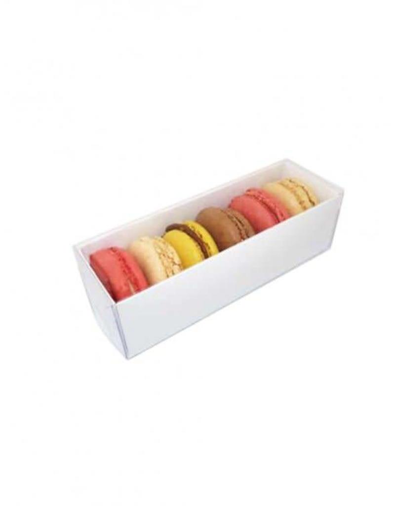 Big River Packaging Macaron Box with Clear Lid (sleeve)