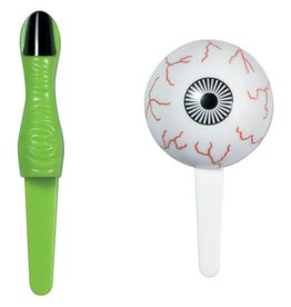 Deco Pack Eyeball and Finger Cupcake Picks