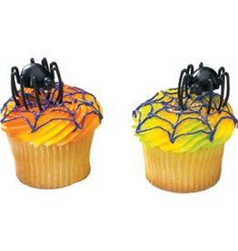 Deco Pack Hunchback Spider Cupcake Topper