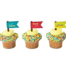 Deco Pack Appreciation Cupcake Picks