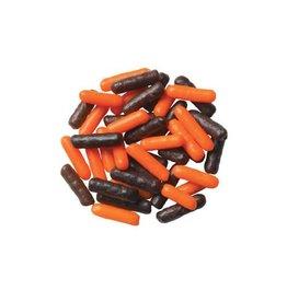 Orange and Black Jimmies