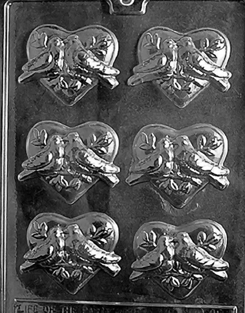 Apollo Dove Heart Chocolate Mold